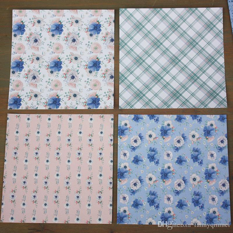 """DIY Album Photo Scrapbooking set Decorative Papers Spring time Craft paper 12""""inch X 12"""" inch Single Side Printed"""