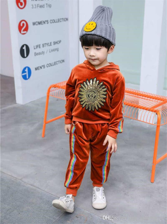 6926f8d56 VSC Kids Sets 1 4T Kids Coats And Pants /Sets Children Sports Sets Baby Boys  Girls Summer Coat Pants Sets Spring Autumn 045 3 UK 2019 From  Junyahongyang07, ...