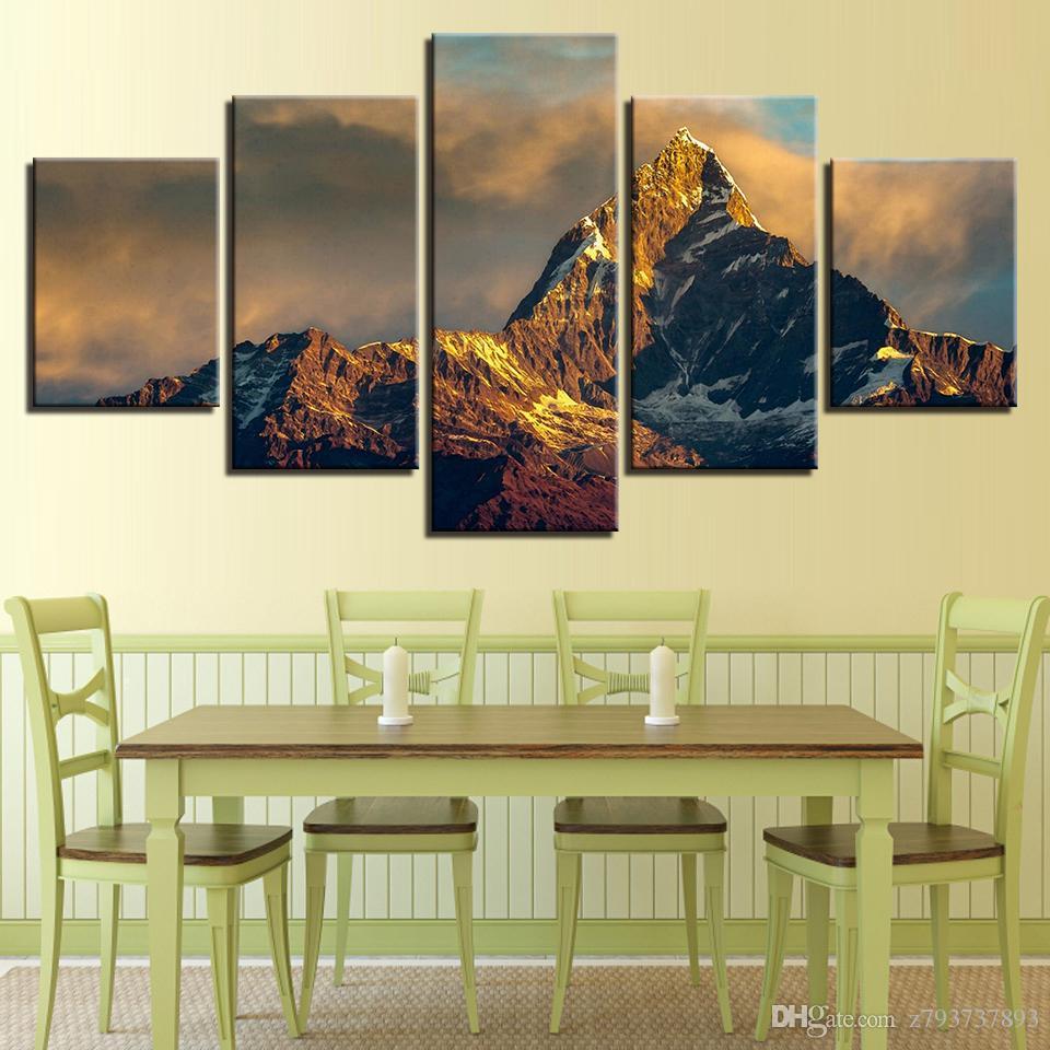 2018 Modern Frames Prints Wall Paintings Decor Fashion Canvas Art 5 ...