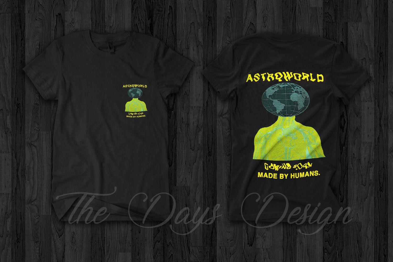 f4cfc7566fed Travis Scott Astroworld Merch Anti Tour Rodeo Madness Pen & Pixel T Shirt  Rap 100% Cotton Short Sleeve O Neck T Shirt Top Tee Basic Men T Shirts Geek  T ...