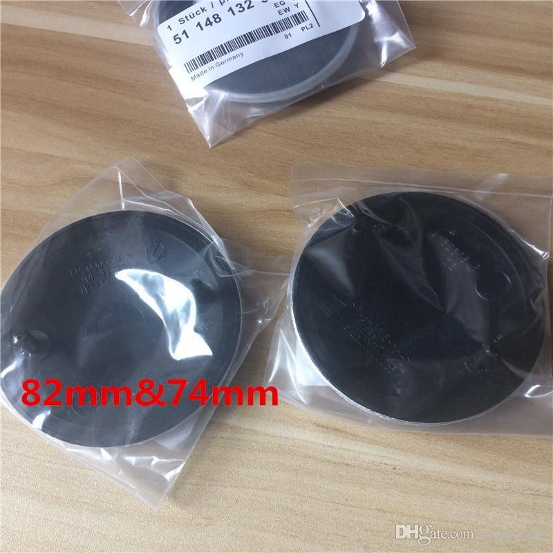 DHL black base 82mm 73mm front rear badges car emblems logos