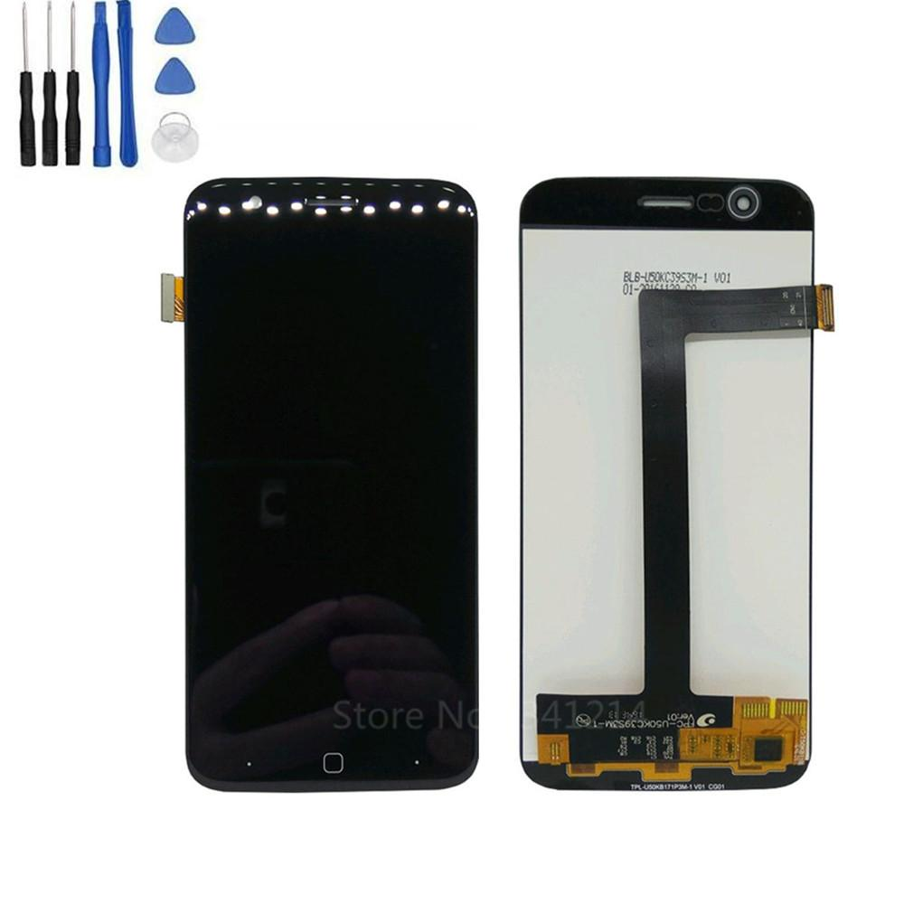 Tempered glass Repair gift Vernee Thor Assembly LCD Display Touch Screen  Glass 1280*720 Replacement LCD Screen Assembly