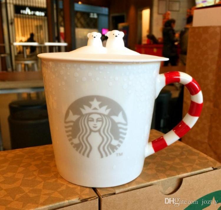 Festival Cadeau Starbucks Ours Tasse Noël À Café Nouvel De Véritable 12oz Embrassant En Polaire Céramique Hug An 2016 Série jSzUMqVpGL