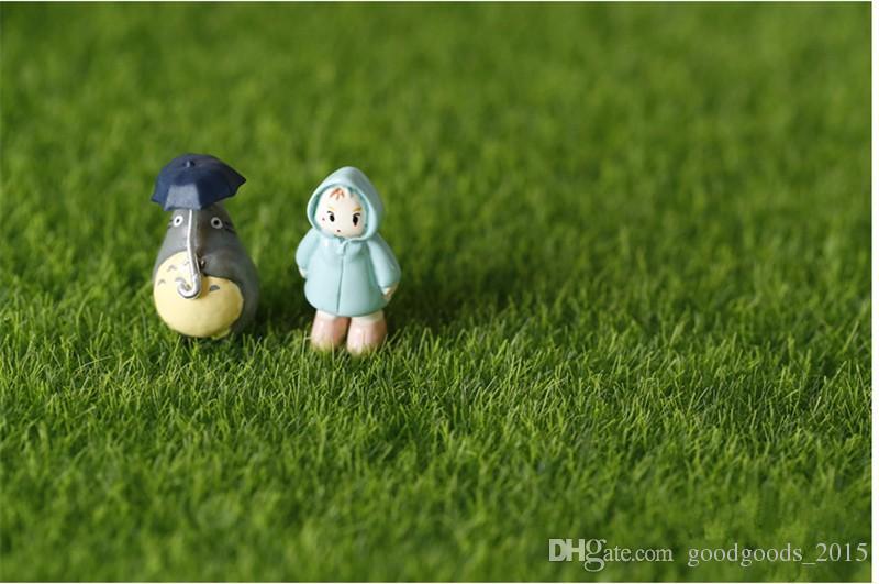 Falsa Musgo Ornamento de Jardín Miniatura DIY Seta Craft Pot Hada Césped Artificial para la Boda Decoración Del Partido de Navidad c462