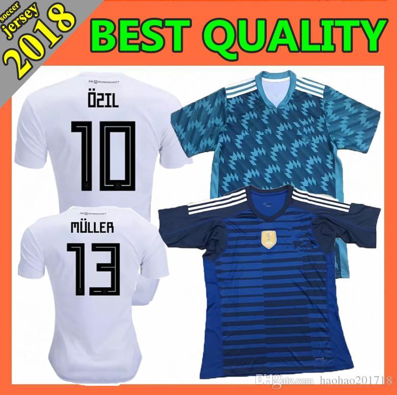 a15013ae4 ... football jersey  germany 2018 world cup home soccer jersey muller ozil  hummels kroos werner sane schurrle m.