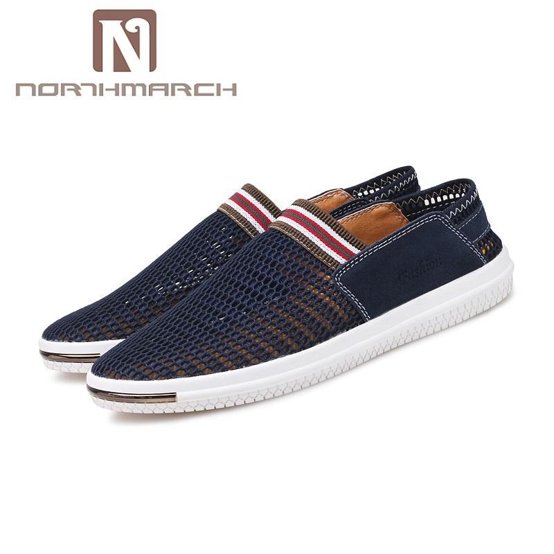 Acquista Northmarch Marca Scarpe Uomo Tenis Masculino Adulto Sneakers  Chaussure Homme Mocassini Traspiranti Casual Slip On Rubbe Scarpe A  57.44  Dal ... 87f40d88fbf