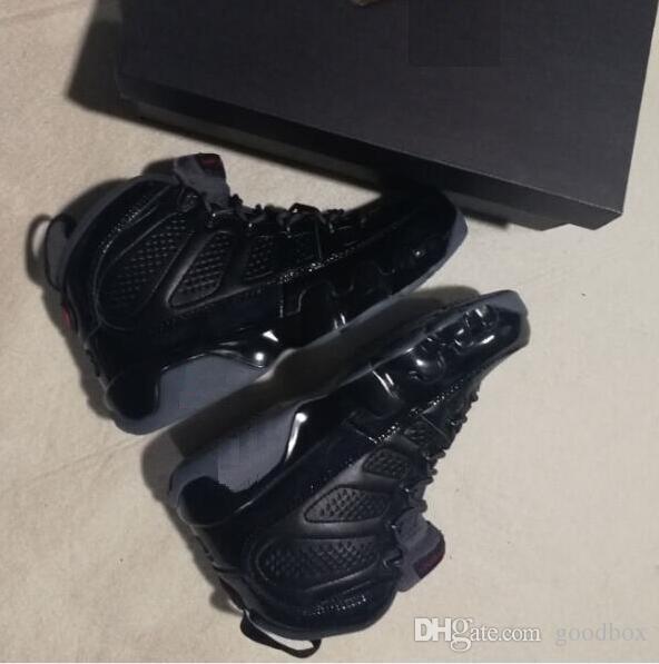 Bred 9s BG GS SPACE JAM 9 ЧЕРНОЕ Дно concord BLUE COUNTDOWN PACK BARONS Красный спортивный плей-офф Оптовая обувь для баскетбола