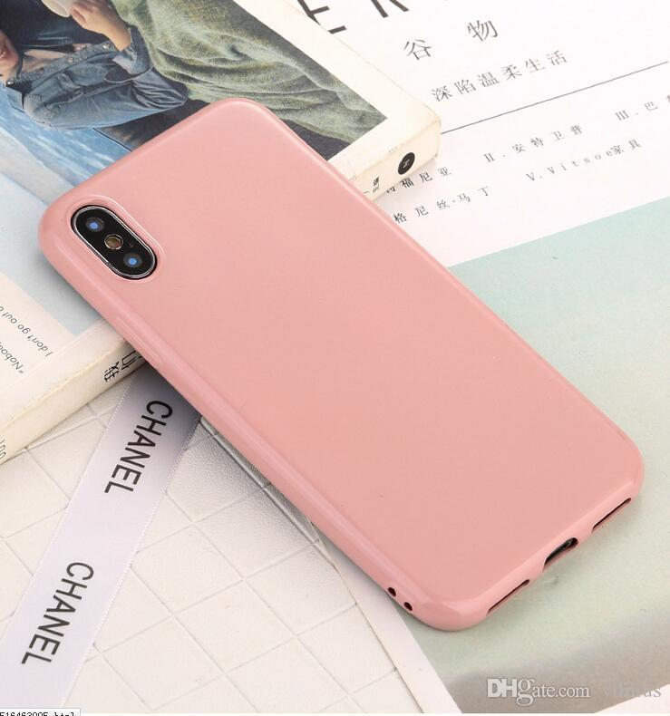 fashion phone case for iphone 6 6s 7 8 x plus simple solid colorfashion phone case for iphone 6 6s 7 8 x plus simple solid color ultrathin soft tpu cases fashion candy color back cover phone case custom phone cases from