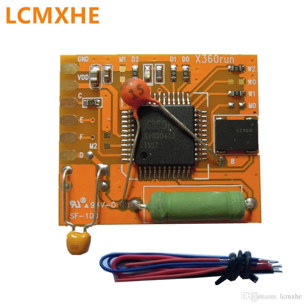 X360run glitcher RGH chip with 96MHz Oscillator Crystal for xbox 360  xbox360 X360 RUN V1 0 yellow pcb