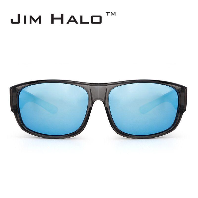 a234dc5c364 Jim Halo Polarized Fit Over Sunglasses Mirrored Oversize Eyewear ...