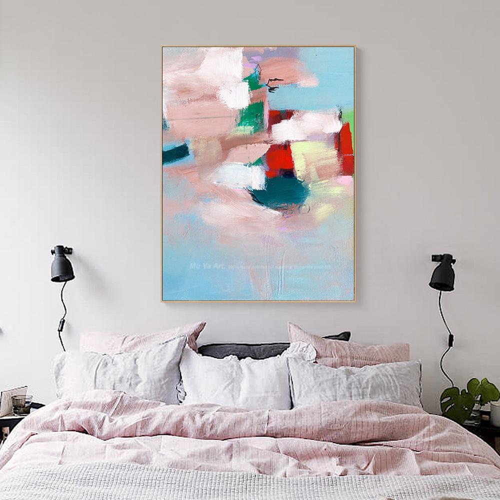 Großhandel Abstrakte Malerei Der Weinlese Beschmückt Moderne Wandkunst  Leinwandmalerei Handgemalte Ölgemäldeacryls Berühmte Grafik Für Schlafzimmer  Von ...