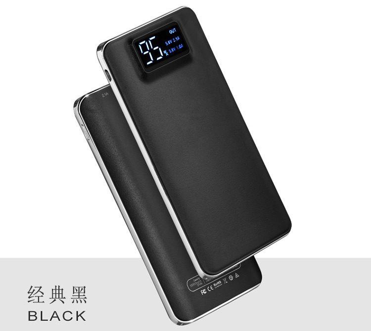 20000 mAh Güç Bankası Taşınabilir Harici Acil Yedekleme Pil Şarj Evrensel Cep Telefonu PowerBank Cep Telefonları için USB Şarj Paketi