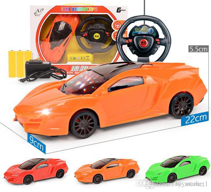 Four Way Electric Ferrari Lamborghini Remote Control Car With Headlights Toy  Car Wholesale Gifts Giveaway Puzzle Childrenu0027s Car Model Remote Control  Toys ...