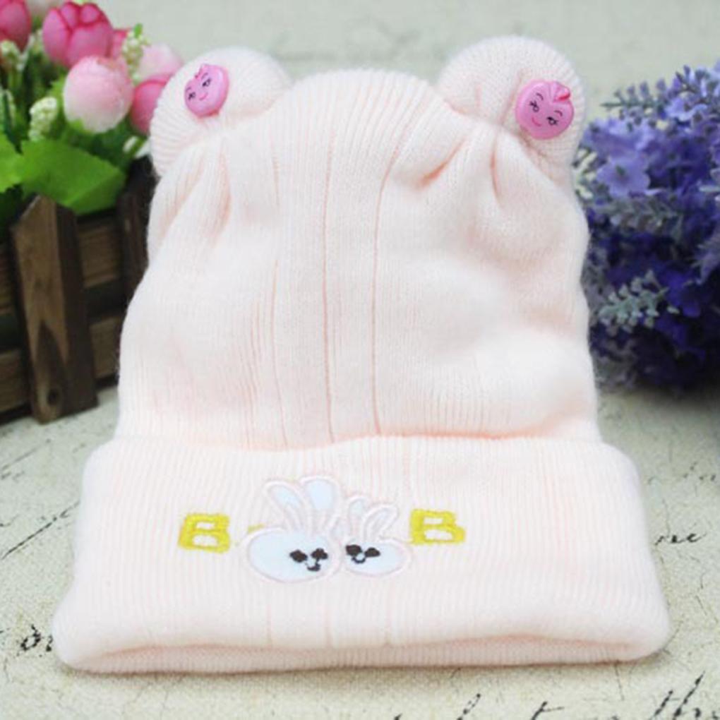 5c665c1cca7 Caps Cute Infant Baby Winter Hat Mother Kids Warm Knitted Hat Newborn Beanie  Cap Boys Girls Hats Toddler Caps Accessories Hats   Caps Cheap Hats   Caps  Caps ...