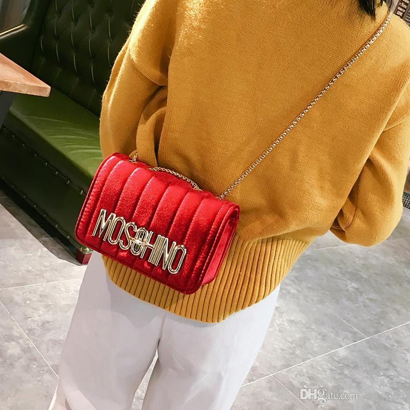 301bb5a78b Shoulder Bags Chain Bags Bolsa Femininas PU Leather Messenger Crossbody Bag  For Women Small Money Clutch Color Womens Purses Leather Bags For Men From  ...