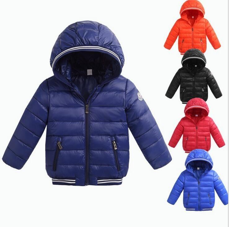 126e48790eb7 Boys Winter Coat Baby Girls Jacket Kids Warm Outerwear Children Coat ...