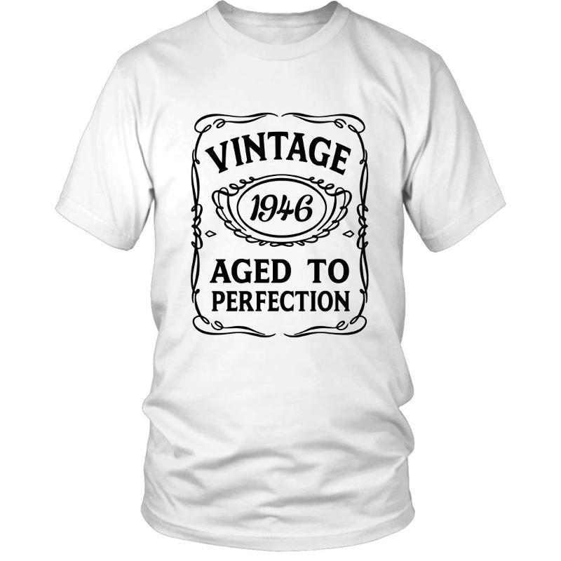 70th Birthday T Shirt VINTAGE AGED TO PERFECTION 1946 Bday 70 Gift Idea Present Online Shirts Design From Alltrends 1101