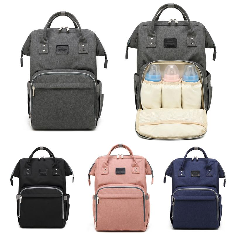 4e83d98457bd Large Capacity Unisex Baby Bag Nappy Bag Travel Backpack High Quality  Nursing For Baby Mom Dad Backpack Carry Care Bags Cute Backpacks Hiking  Backpack From ...