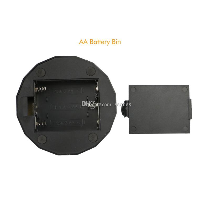 RGB Lichter 3D LED Lampensockel IR Remote AA Batterie Bin 10 LEDs 3D Optische Lampen Touch Schalter Neuheit Beleuchtung Tischlampe Großhandel