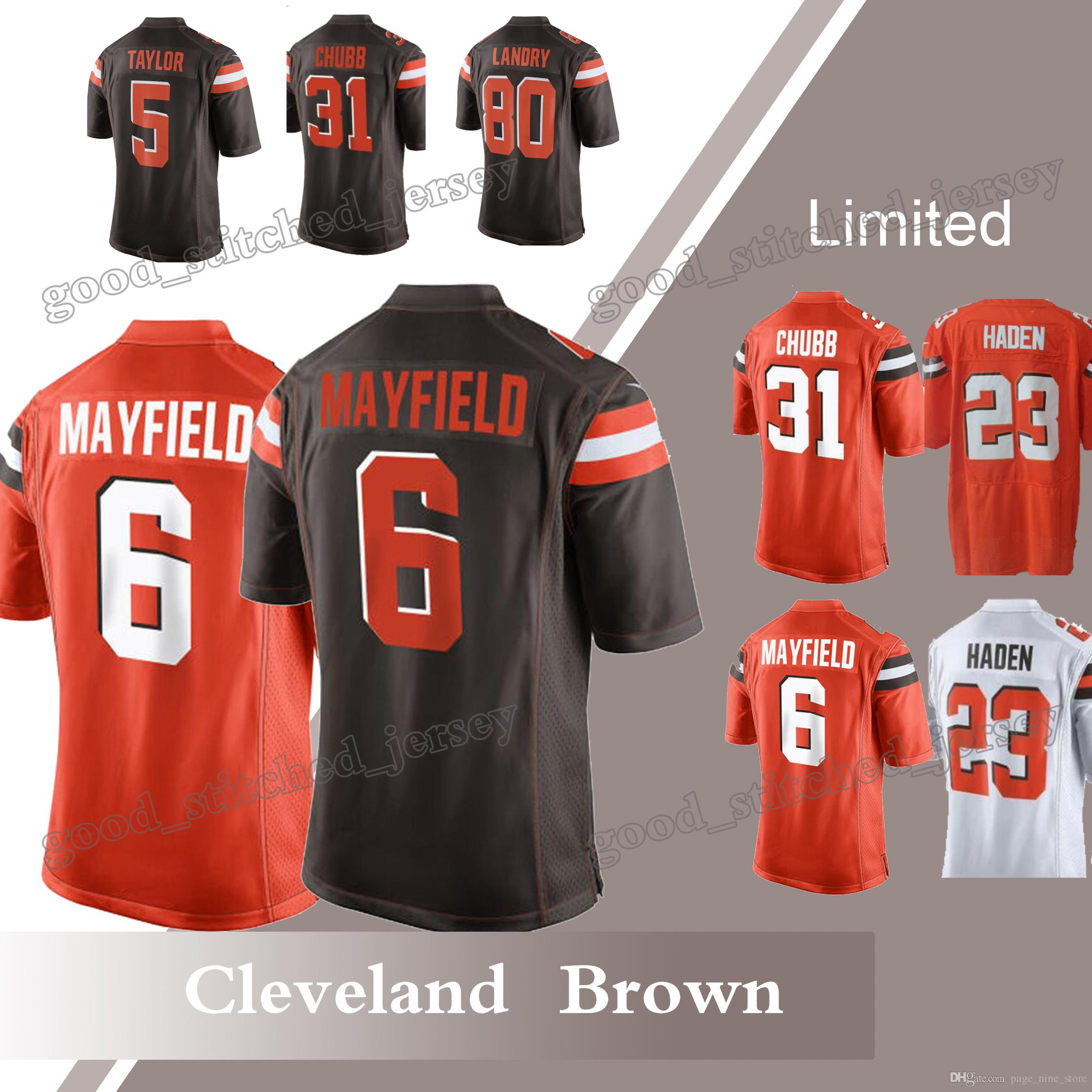 7665b76a3f7 cleveland browns jersey dhgate