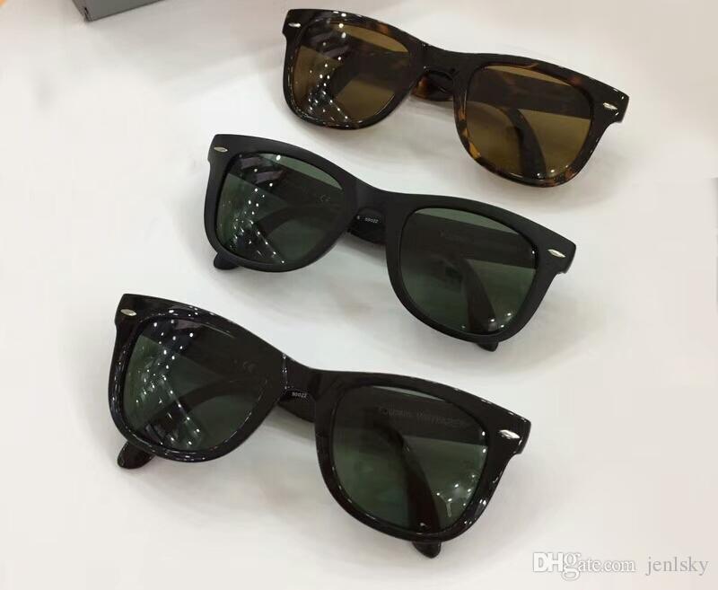 8529fa32ed0e5 Classic Square Folding Sunglasses Matte Black Green Lens Sonnenbrille Des Lunettes  De Soleil Unisex Designer Glasses Shades New Locs Sunglasses Suncloud ...