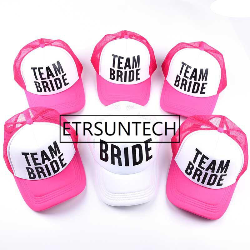 Wedding Favor Bridesmaid Gift Hat Team Bride Drinking Groom Baseball Cap Bachelor Party For Guest 18th Birthday Hats From