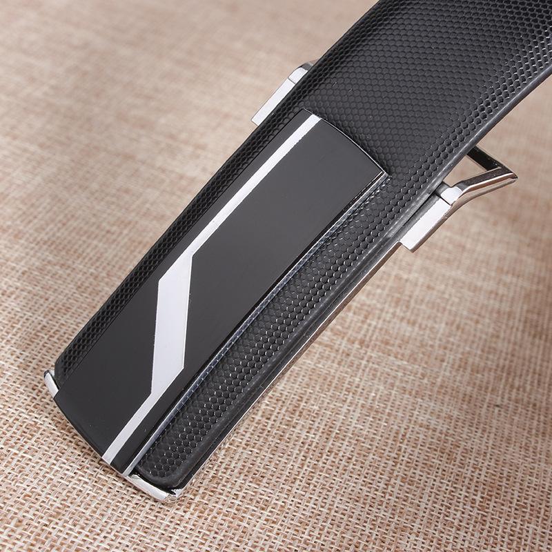 Nuovi cinturini da uomo di marca cinturini da uomo in pelle di vacchetta vera pelle bianco nero fibbie lisce cinturones cinturones hombre
