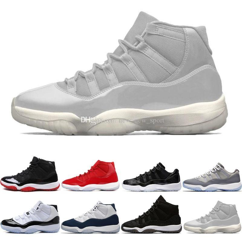 9cb0fa860ef11e Number 23 45 Concord 11 Men Basketball Shoes Cap And Gown Platinum ...