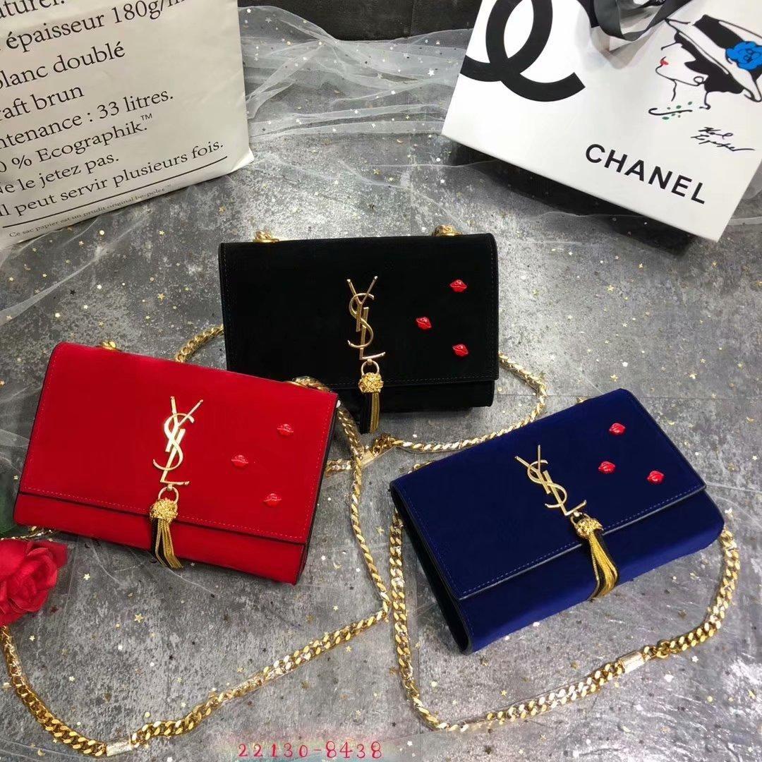 69b8aa8226678 Großhandel Frankreich Luxusmarke YL Frauen Umhängetasche Mini Samt Kette Taschen  Handtasche Cross Body Designer Taschen Von Guccidiorlv