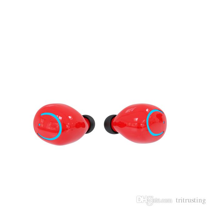 TWS Q18 Mini Wireless Bluetooth 4.2 Earphones With Charger Waterproof Material Earbuds Cell Phone Headphone Twins Earpiece MQ50
