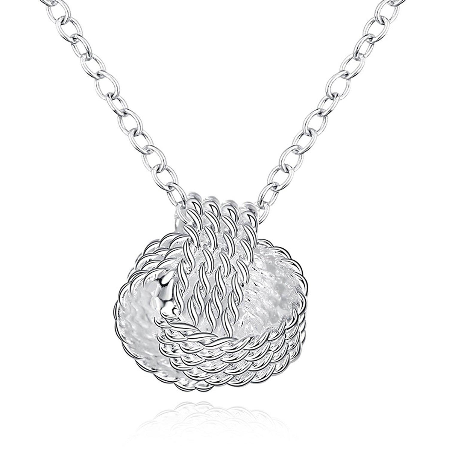 to knot silver pearl sterling add trinity necklace wishlist cart pendant