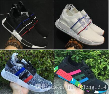 8a448adae 2017 NMD R2 PK Primeknit Running Shoes High Quality Men Women NMD ...