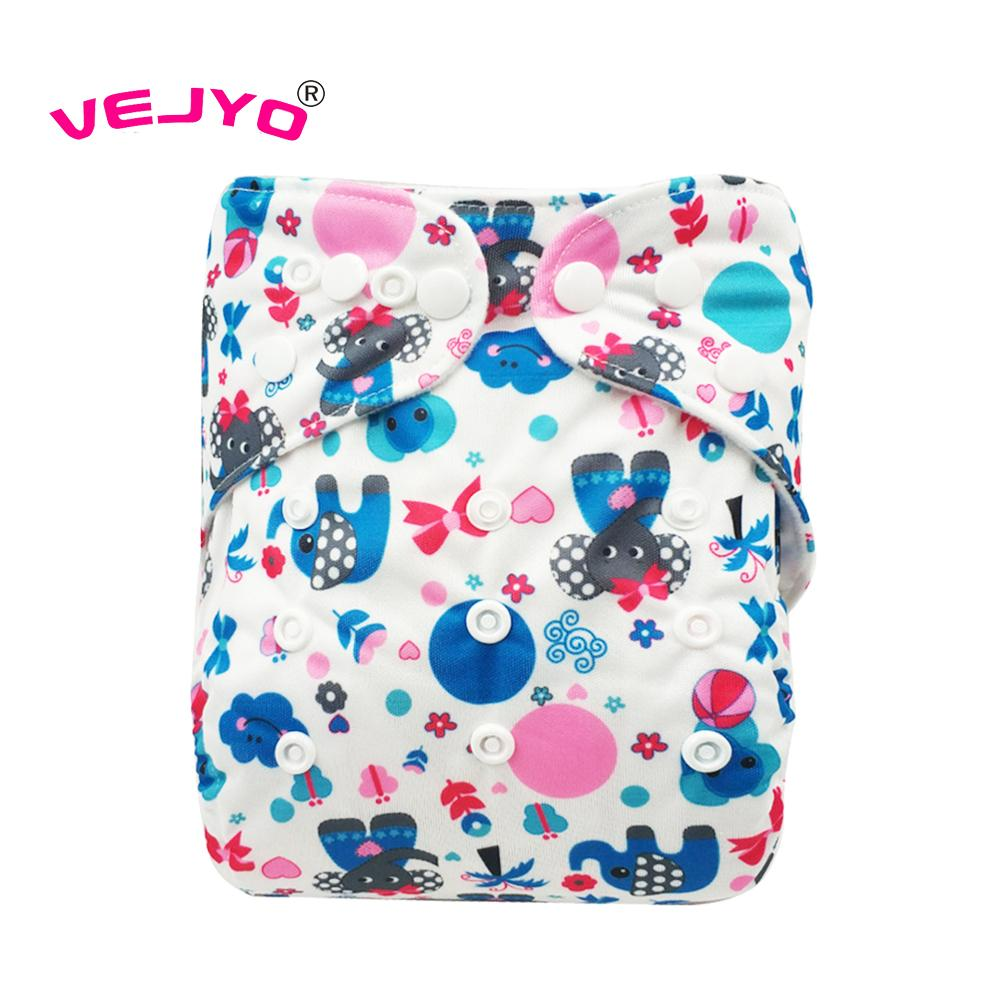 Infant Baby Reusable Washable Adjustable Cloth Diaper Nappies All in One Size