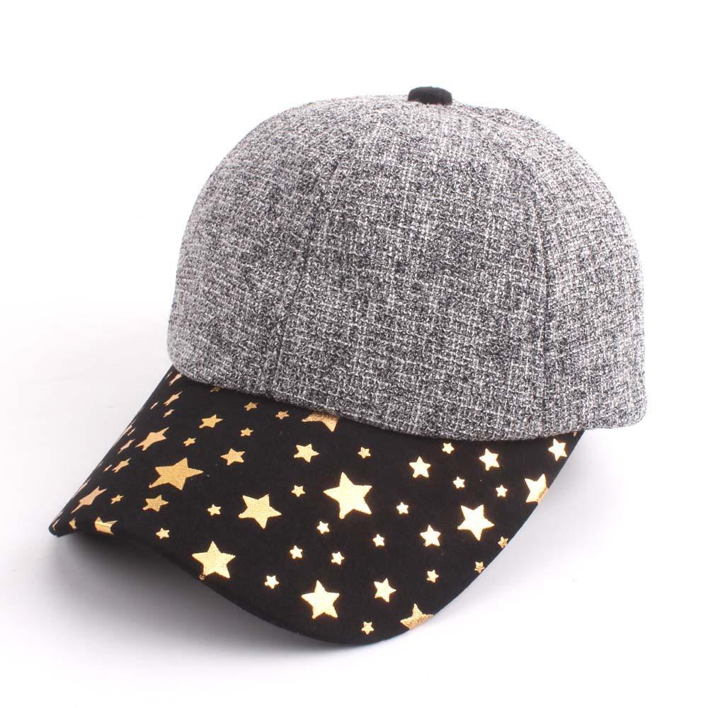 bd6a9b2058d New Retro Baseball Caps for Women Men Popular Stars Ball Hat Curved ...