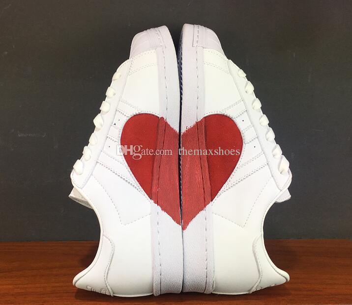 حار 2018 عشاق ستان سميث الرجال النساء الأحذية الكلاسيكية أحذية عالية الجودة عارضة أكثر لون عارضة الجلود أحذية رياضية حجم US5-11