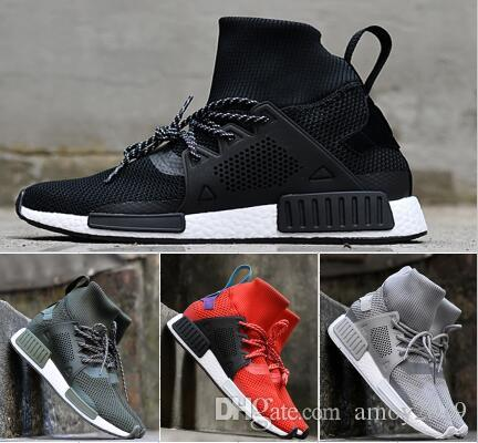 eba92f945f90a 2018 Newest NMD Runner XR1 Boots Man Running Shoes Red Grey Triple Black  Grey Ultra Nmds Primeknit Womens Run Sport Sneakers Eur 36-45 Nmd Nmd Xr1  Nmds ...