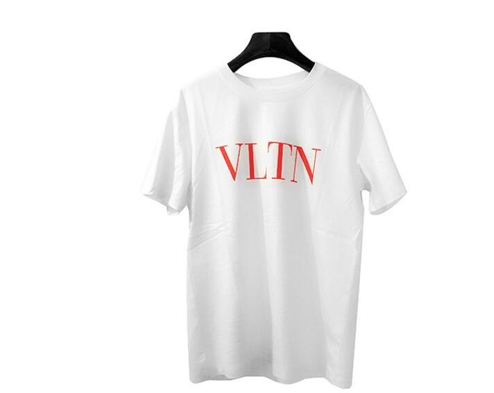 2018 Best Quality Harajuku Short Sleeve Breathable Tshirt Hip Hop Box Logo Fashion Pullover Tees Short Sleeve Paris Tag Sportswear