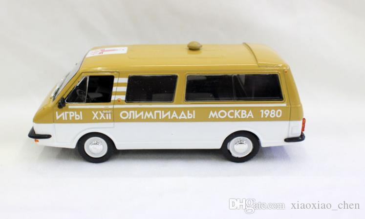 Russian RAF Moscow winter sports commemorative car model toys 1:43 scale diecast metal model car toys alloy toy vehicles collection model