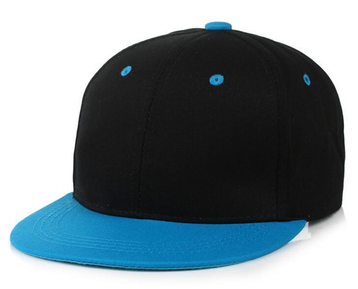 20 cores de boa qualidade sólido snapback em branco chapéus sólidos bonés de beisebol bonés de futebol Basquete ajustável Cap