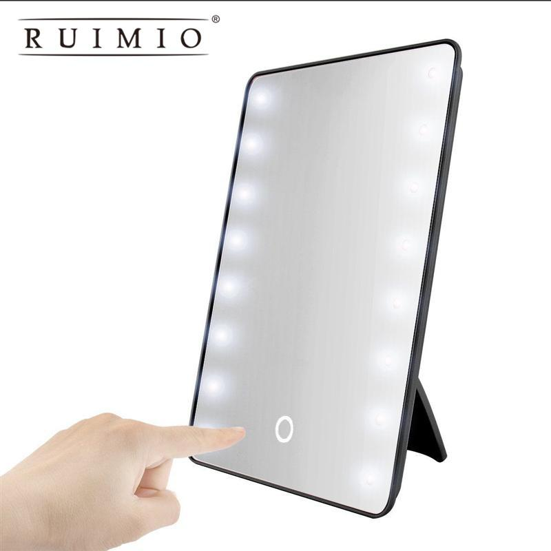 Makeup Mirror With 16 Leds Cosmetic Mirror With Touch Dimmer Switch