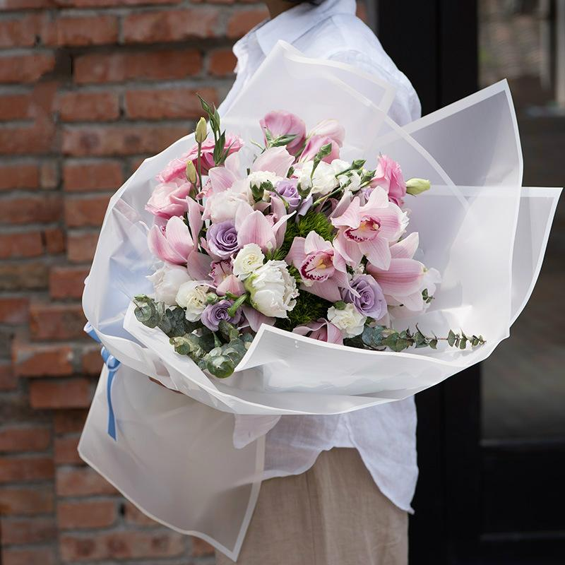 Translucent Flower Wrapping Paper Florist Bouquet Floral Wrap Paper Wedding Valentines' Day Gift Decoration