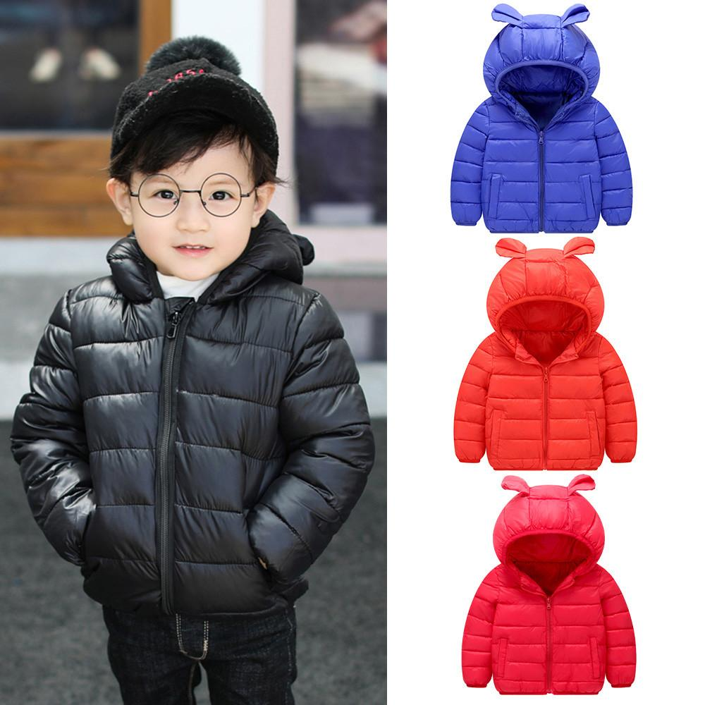 20a4b856e 2018 Children Coat Autumn Kids Jacket Boys Girls Outerwear Long ...