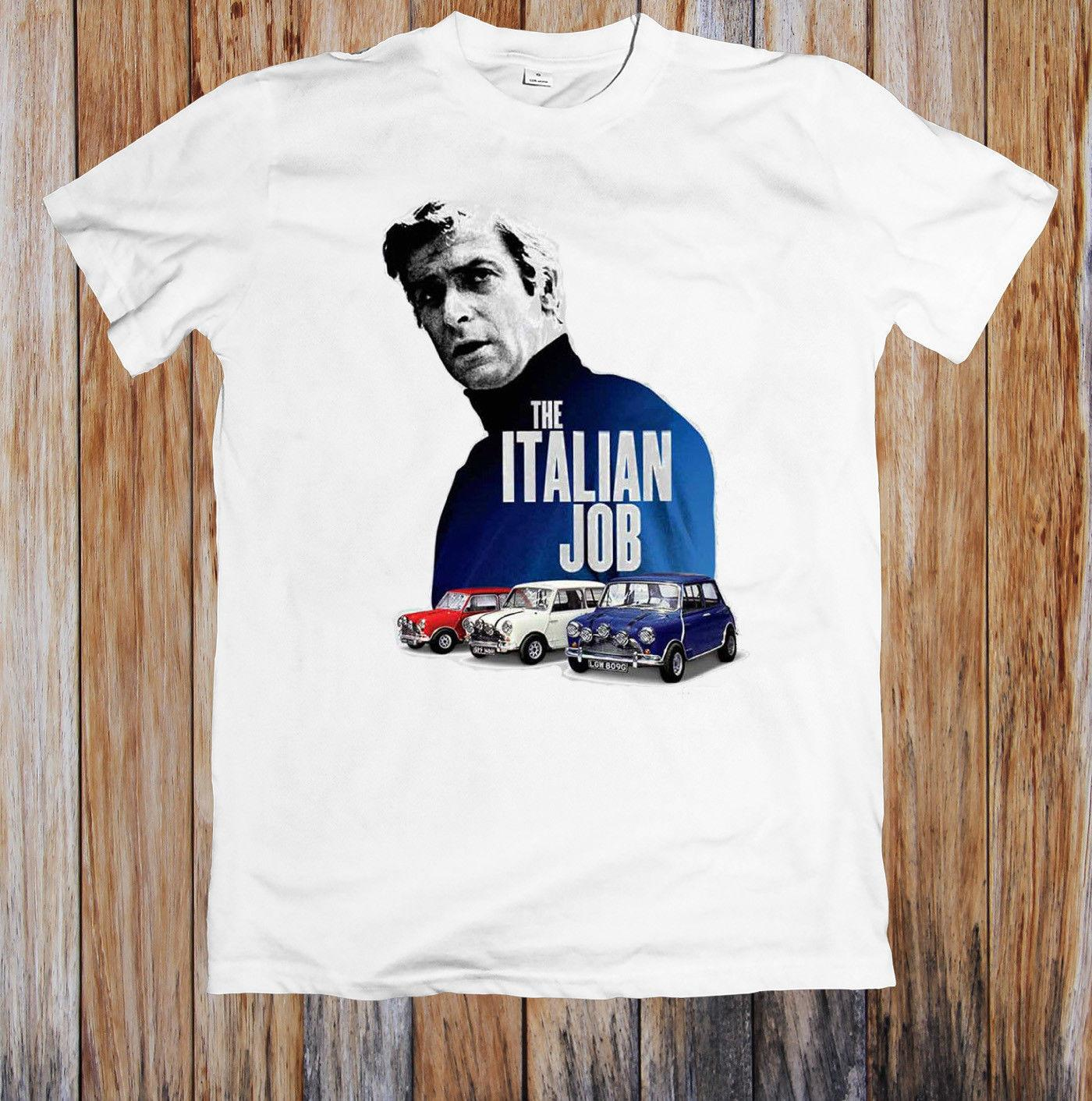 The Italian Job Classic Mini Cooper Unisex T Shirt Personalized T