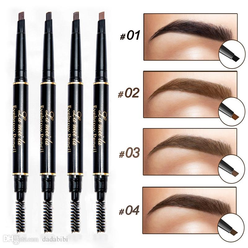 Two-color Fog Cushion Air Cushion Liquid Eyebrow Pencil Eyebrow Dye Eyebrow Powder Long-lasting Waterproof Beauty Tools Beauty & Health