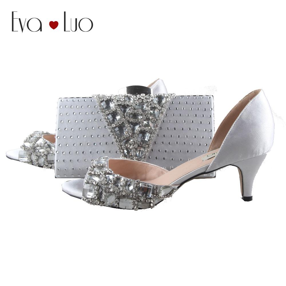 dc8df913c8d72 Silver Shoes And Bag