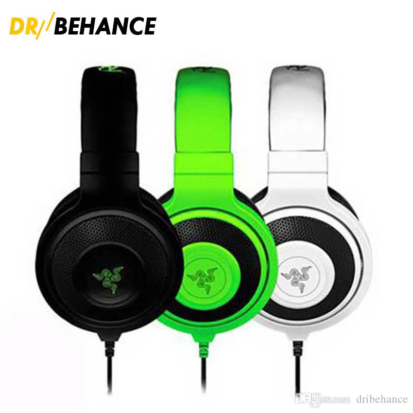 Best Quality 3.5mm Razer Kraken Pro Gaming Headset With Wire Control  Headphones In BOX For IOS Android Most Popular Earphone Without Package  Headsets In Ear ... 7b53e244ab