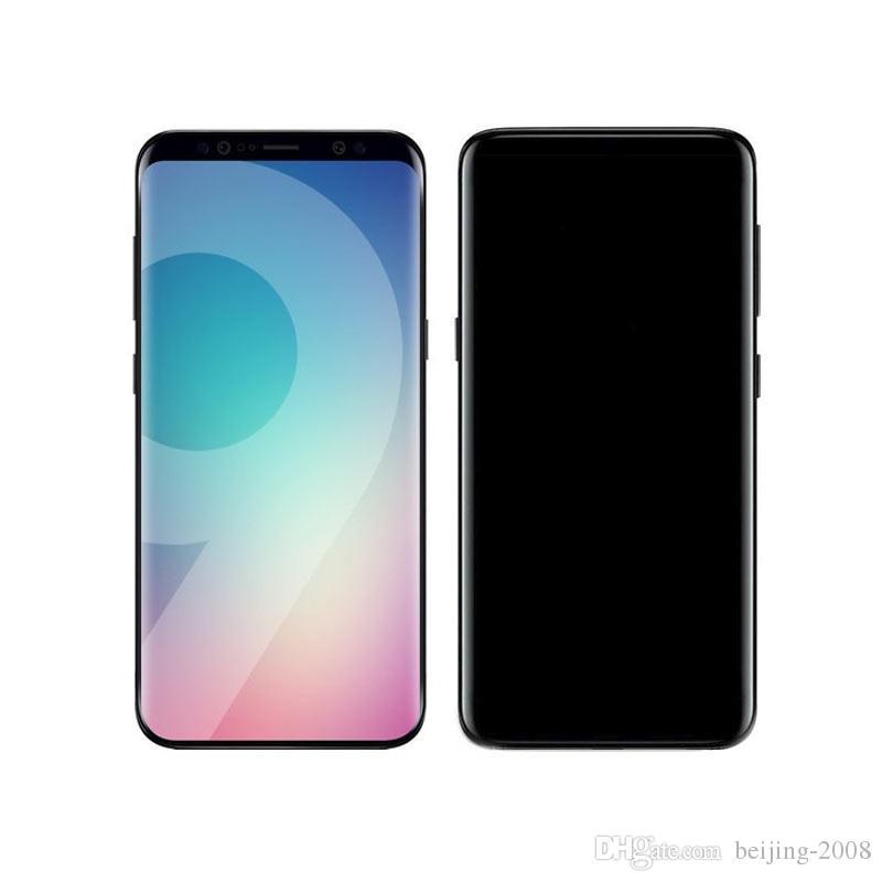 Goophone Quad Core 1G RAM 4G ROM 5.8 inch WIFI 3G WCDMA Fake 4g Lte Android Smartphone Full Screen Unlocked Phone