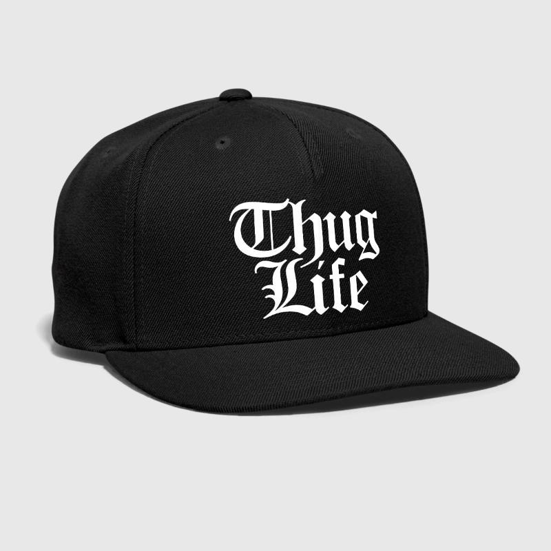 8e3a8ef56bc Thug Life Embroidered Customized Handmade Cool Criminal Dying Young Ganster  Ghetto Hip Hop Meme Risk Slang Fashion Snapback Hat Design Your Own Hat  Make ...