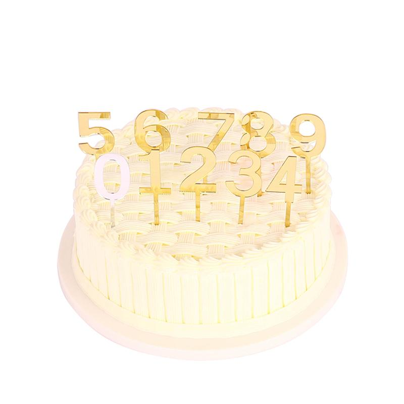 Acrylic Number Figure Custom Birthday Decoration Cake Topper Online With 9255 Piece On Afantihourses Store