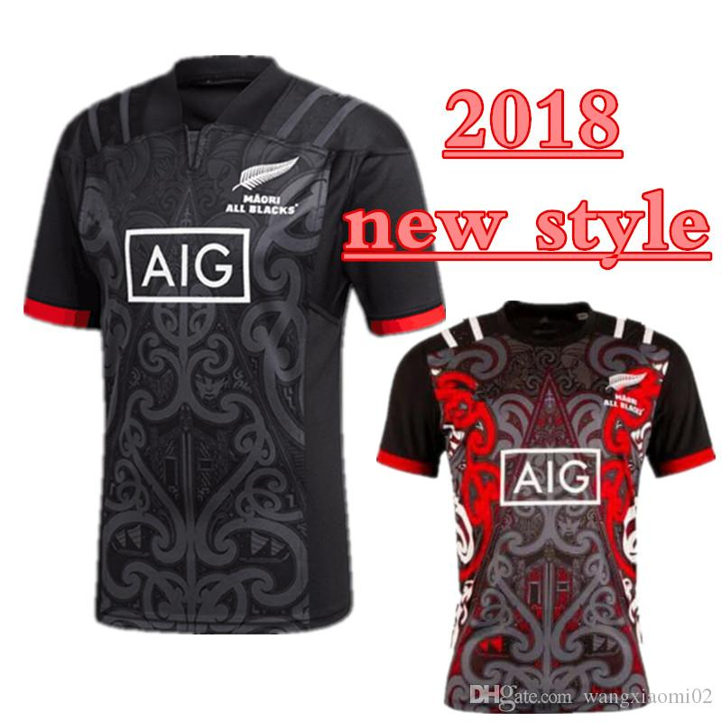 2639307d2fe 2018 2019 Maori All Blacks Jersey New Zealand Top Quality Rugby ...
